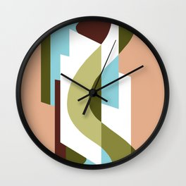 SUISSE - Art Deco Modern: GENTLEMEN'S CLUB Wall Clock