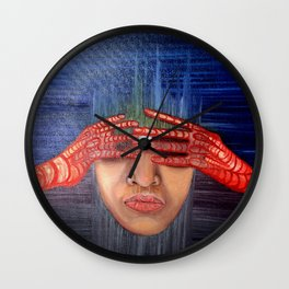 In Hiding Wall Clock