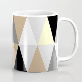 Brown Triangles Coffee Mug