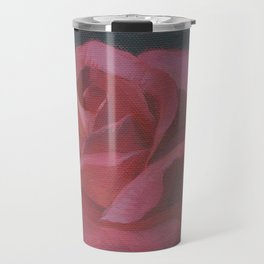 A Rosy Disposition Travel Mug