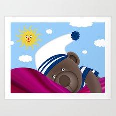 Good Morning Mummy Art Print