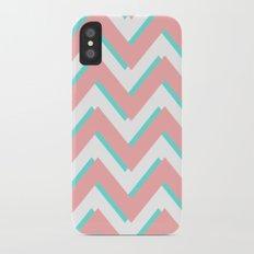 3D CHEVRON 3 iPhone X Slim Case