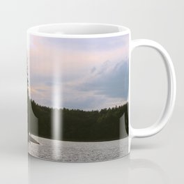 Sunset at Concord's Walden Pond 2 Coffee Mug