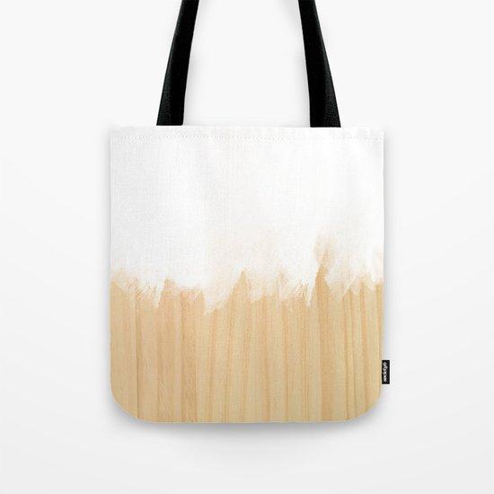 Scandinavian White Tote Bag