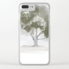 The Giving Tree Clear iPhone Case
