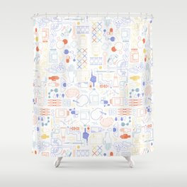 First Aid Kit Shower Curtain