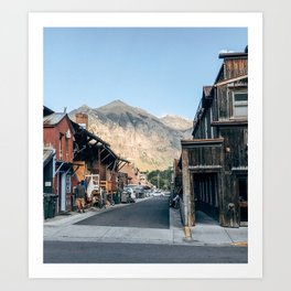 Street Photo Art Print