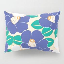 Shades of Tsubaki - Lavender & White Pillow Sham