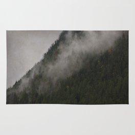 Revelstoke Forest Mists Photo Art Rug