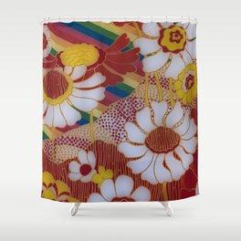 Hippy Style Shower Curtain