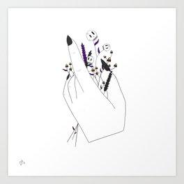 Handful of Candycorn Art Print