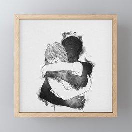 I would keep you forever. Framed Mini Art Print