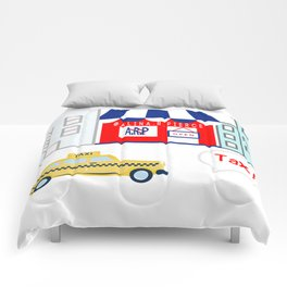 Taxi! - for arp - Comforters