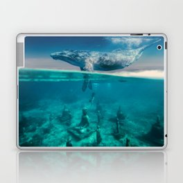 Between the sea and sky by GEN Z Laptop & iPad Skin