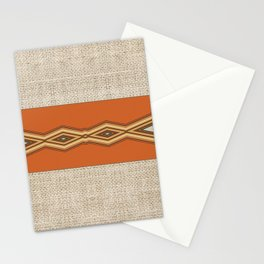 Southwestern Earth Tone Texture Design Stationery Cards