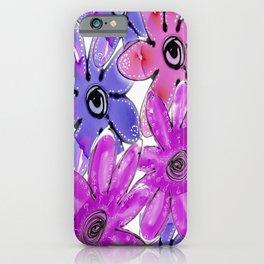 FLORAL POP 2 iPhone Case