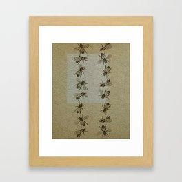 Bee Line Framed Art Print