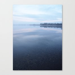 A vision of Pickerel Lake: spring-fed and undisturbed Canvas Print