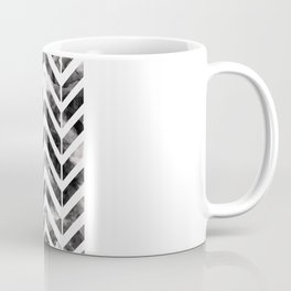 Brush Chevron Coffee Mug