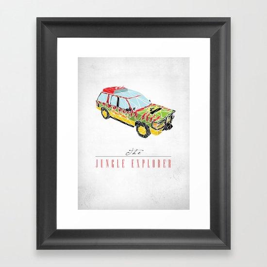 The Jungle Explorer  Framed Art Print