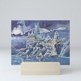 Magic Castle School for Magical Kids Mini Art Print