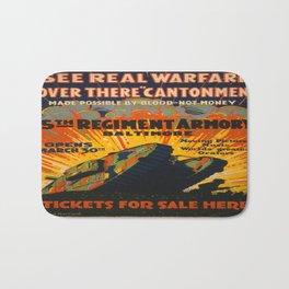 Vintage poster - Fifth Regiment Armory Bath Mat