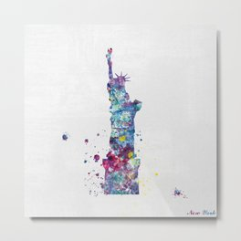 Statue of Liberty - New York Metal Print