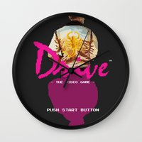 video game Wall Clocks featuring Drive Video Game by Simon Alenius