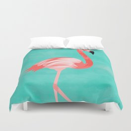 Flamingo Bird Duvet Cover