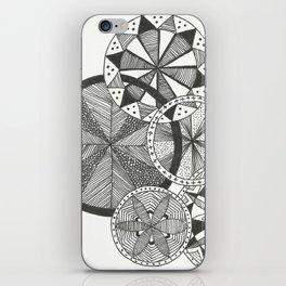Wheels of Life iPhone Skin