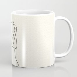hugging female Coffee Mug