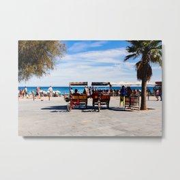 Barceloneta Beach - #1 Metal Print
