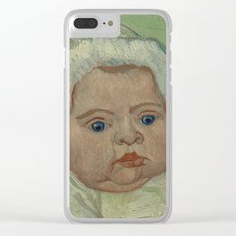 Portrait of Marcelle Roulin Clear iPhone Case