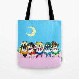 Sailor pugs Tote Bag