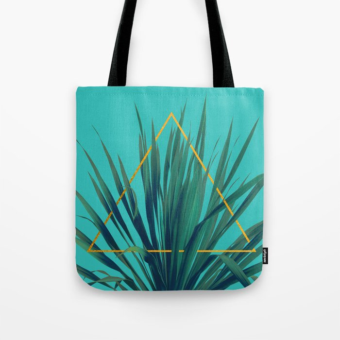 Geometric Fountain Tote Bag