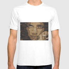 Noemi SMALL White Mens Fitted Tee