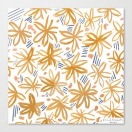 Splendid Adventure Pattern Canvas Print