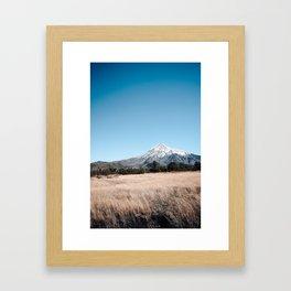 vulcano lanin Framed Art Print