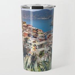 Vernazza town in Cinque Terre Travel Mug