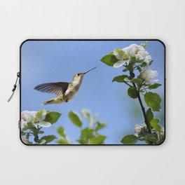 Spring Hummingbird Laptop Sleeve
