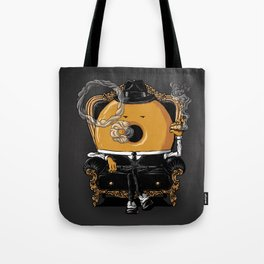 Gangster Donut Tote Bag