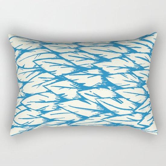Feathered Fringe Rectangular Pillow