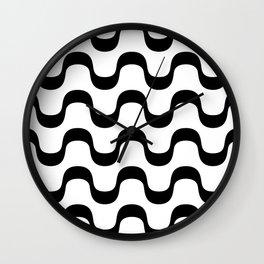 Copacabana Black And White Wall Clock