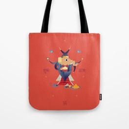 Ganesha: Hindu God of good luck Tote Bag