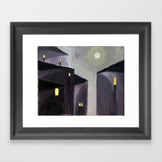 Vicolo (Alley) Framed Art Print