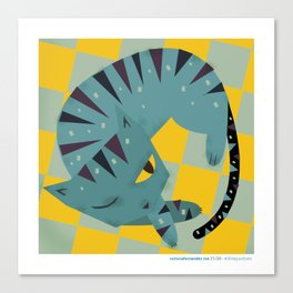 #30daysofcats 21/30 Canvas Print