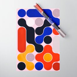 Mid-century no5 Wrapping Paper