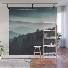 Mountain Light Wall Mural