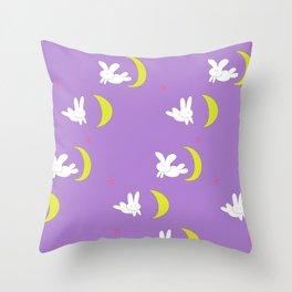 Usagi (Sailor Moon) Bedspread Bunny and Moon  Throw Pillow