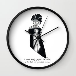 Elizabeth Wall Clock